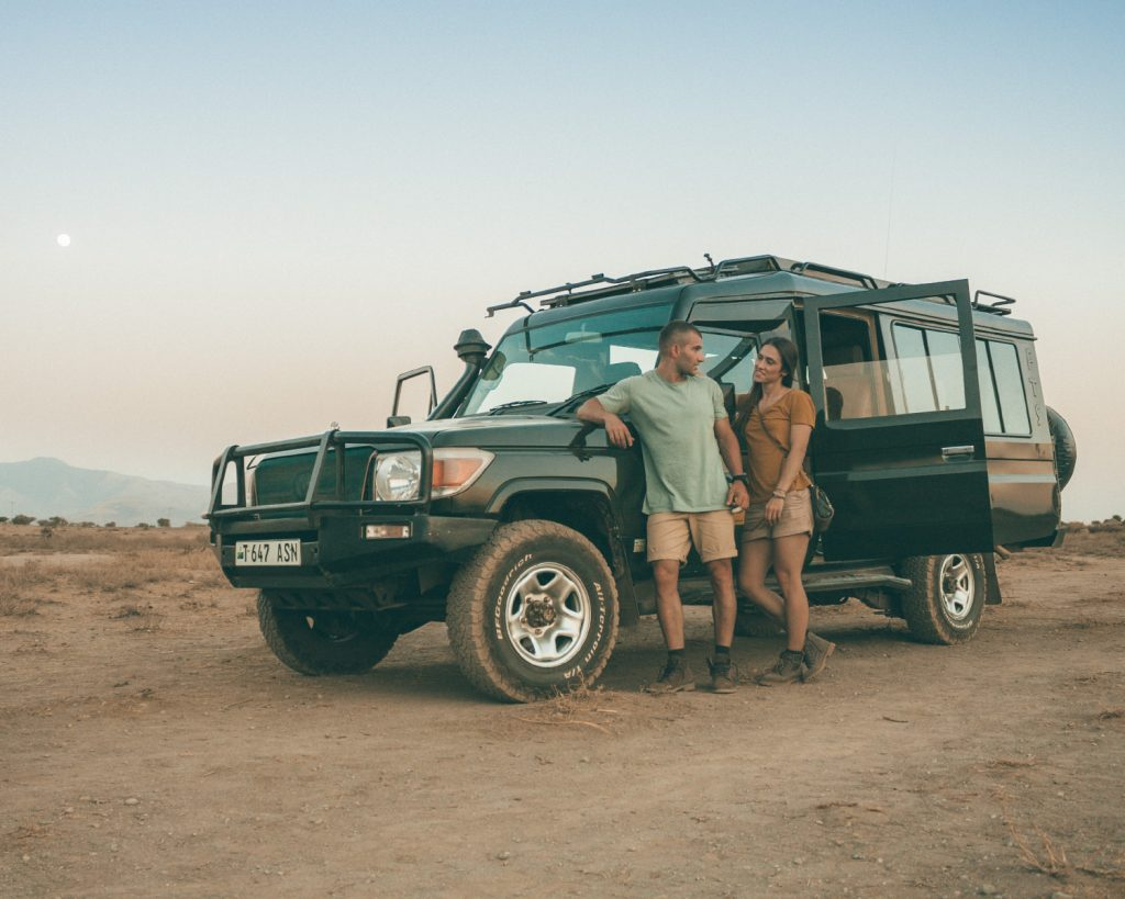 IN THE HEART OF AFRICA: SAFARI OF A LIFETIME