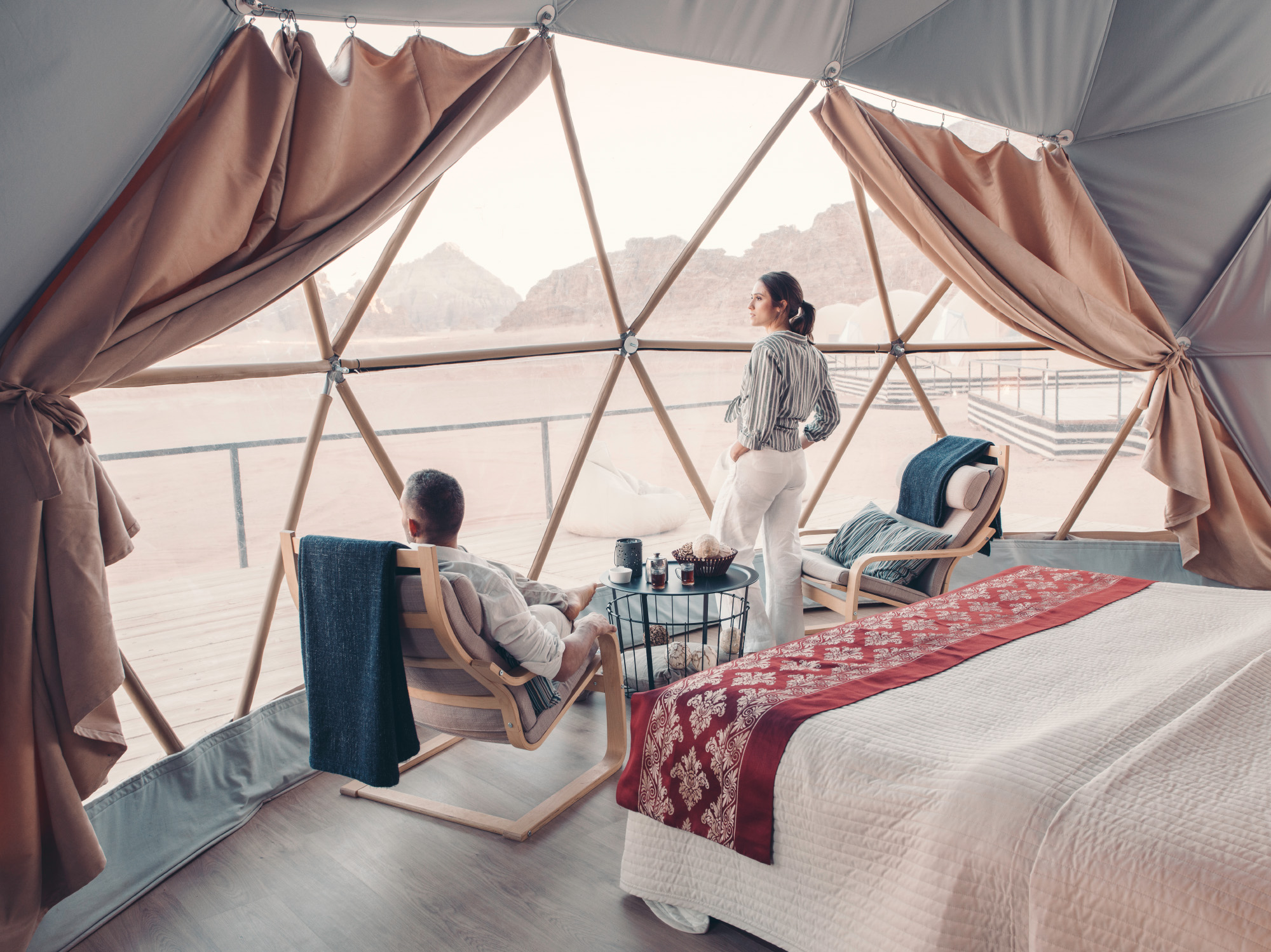 MISSION MARS: GLAMPING AT SUNCITY CAMP