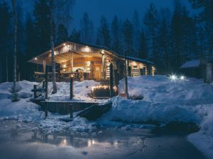 CABIN LIFE: SPA LODGING IN THE HEARTH OF FINLAND